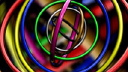 Royalty Free HD Video Clip of Spinning Geometric Circles