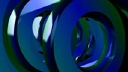 Royalty Free HD Video Clip of Rotating 3D Washers