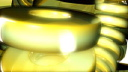Royalty Free HD Video Clip of Thick Yellow Rings