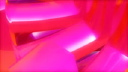 Royalty Free 4H Video Clip of Rotating Pink Spokes