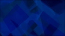 Royalty Free Video of Abstract Blue Moving Geometric Shapes