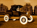 Royalty Free Video of an Antique Car
