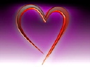 Royalty Free Video of a Heart on Purple