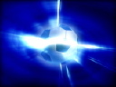 Royalty Free Video of a Revolving Soccer Ball