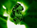 Royalty Free Video of a Revolving Dollar Sign