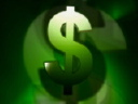 Royalty Free Video of a Dollar Sign
