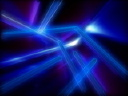 Royalty Free Video of a Spinning Blue and Purple Abstract