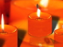 Royalty Free Video of Candles
