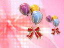 Royalty Free Video of Balloons and Bows