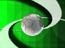 Royalty Free Video of a Soccer Ball
