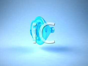 Royalty Free 3d Clipart Image of a Speaker