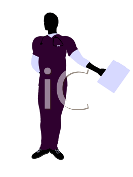 Royalty Free Clipart Image of a Doctor