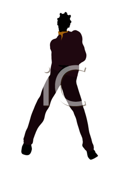 Royalty Free Clipart Image of a Young Woman