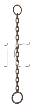 Royalty Free Clipart Image of a Chain