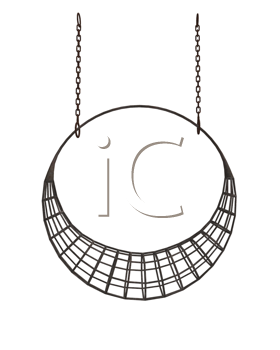 Royalty Free Clipart Image of a Metal Crescent