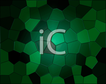 Abstract illustration of green reptile background