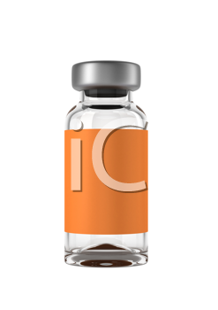 Royalty Free Clipart Image of an Ampoule