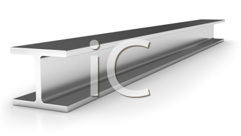 Royalty Free Clipart Image of an Iron Joist