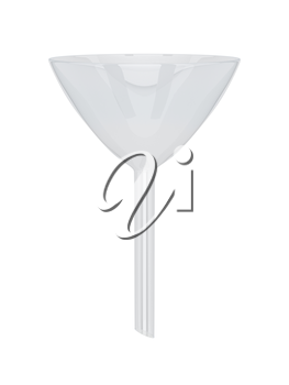 Royalty Free Clipart Image of a Funnel