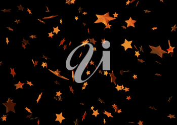 Abstract Holiday black background with stars .