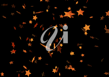 Abstract modern Holiday black background with stars.