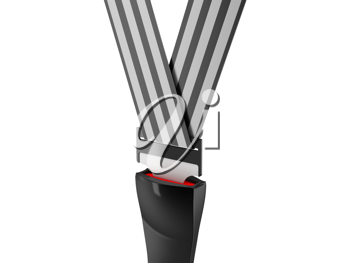 Royalty Free Clipart Image of a Seat Belt