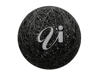 Royalty Free Clipart Image of a Ball of String