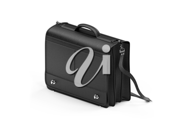 Royalty Free Clipart Image of a Leather Handbag