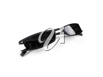 Royalty Free Clipart Image of a Pair of Sunglasses