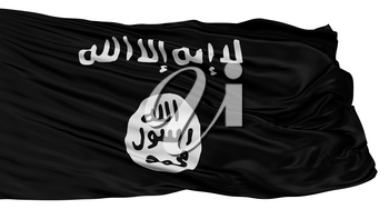 Aqmi Asymmetric Flag, Isolated On White Background, 3D Rendering