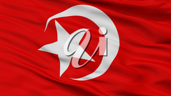 Nation Of Islam Flag, Closeup View, 3D Rendering