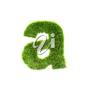 Royalty Free Clipart Image of a Letter 'a'