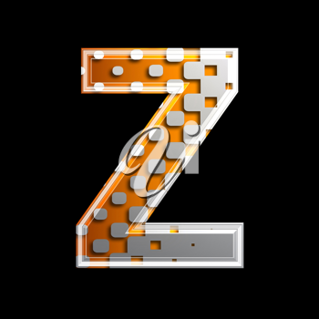 Royalty Free Clipart Image of a Letter 'Z'