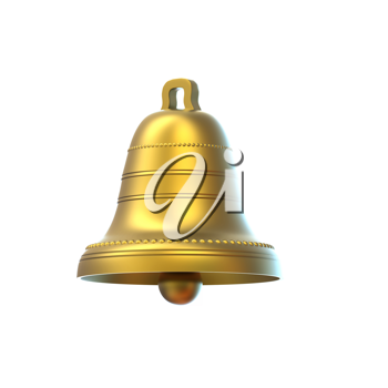 Royalty Free Clipart Image of a Bell