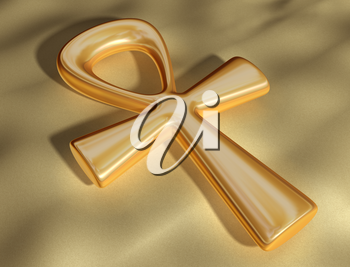 Royalty Free Clipart Image of an Egyptian Ankh