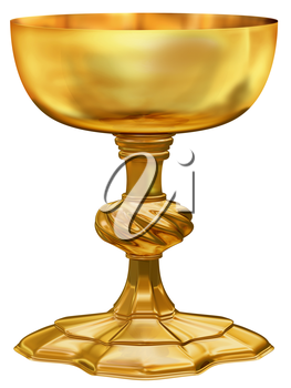 Royalty Free Clipart Image of a Goblet