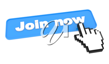 Join Now - Button. Element for Your Site.