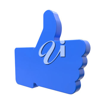 Like Icon. Thumb Up Sign for Blogs and Websites.