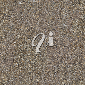Seamless Tileable Texture of Surface Covered with Small Dark and Light Stones.