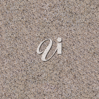 Seamless Tileable Texture of Surface Covered with Small Light Stones.