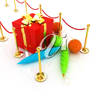 Beautiful Christmas gifts on New Year's path to the success