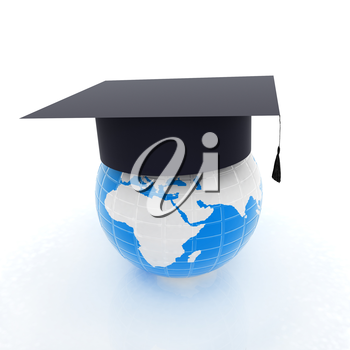 Global Education. 3d illustration