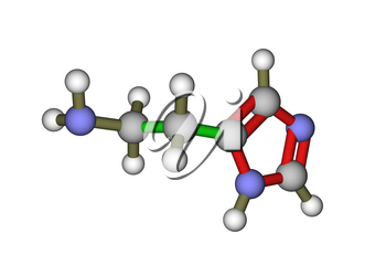 The molecular structure of histamine