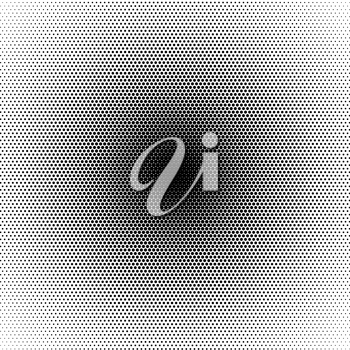 Basic halftone circle dots effect in black and white color. Halftone effect. Dot halftone. Black white halftone.